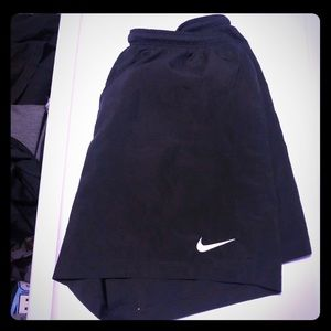 Nike soccer shorts with #1